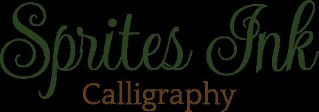 Sprites Ink Calligraphy